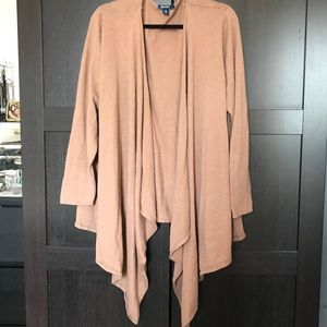 Old navy draped cardigan