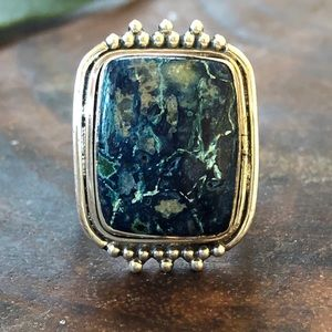 Jewelry - Sterling (925) Shattuckite Ring