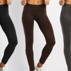 Pants - ✨Accepting Offers! Brown Fleece Lined Leggings