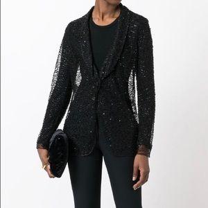 Armani collection beaded cardigan /jacket NWT