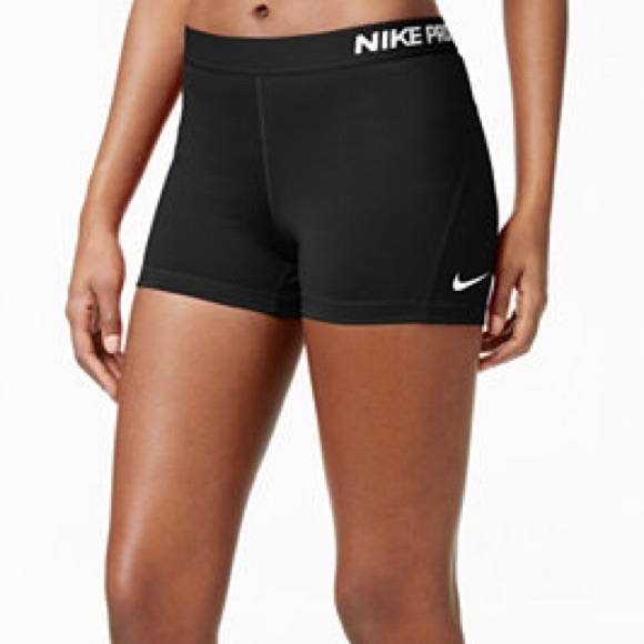 Nike Pro Womens Black Spandex Shorts