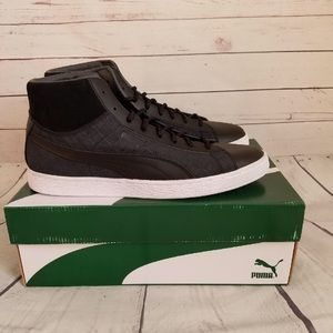 puma suede classic mid sneakers