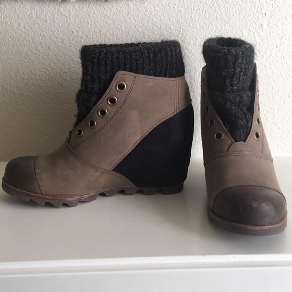 Sorel Shoes Joanie Sweater Wedge Poshmark