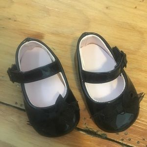 Baby Mary Jane shoes. Size 1 newborn.