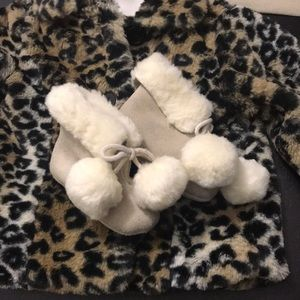 Other - Gap fur lined booties sz 6-12 mo