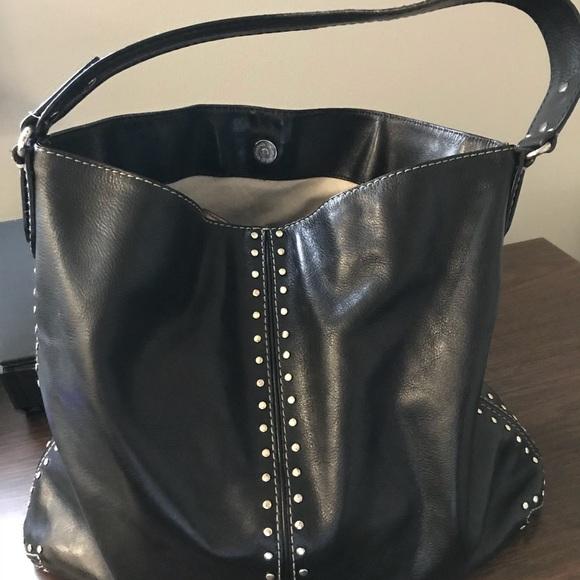 640434d931 Michael Kors Astor silver studded Leather tote. M 5a3189967fab3a58de01c07d