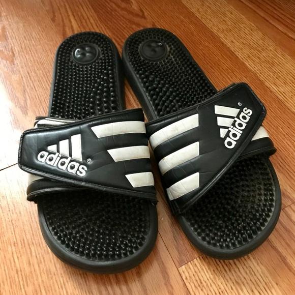 45d9da1e4a5 adidas Shoes - Adidas Adissage Slides - Size 10 - Gently Used