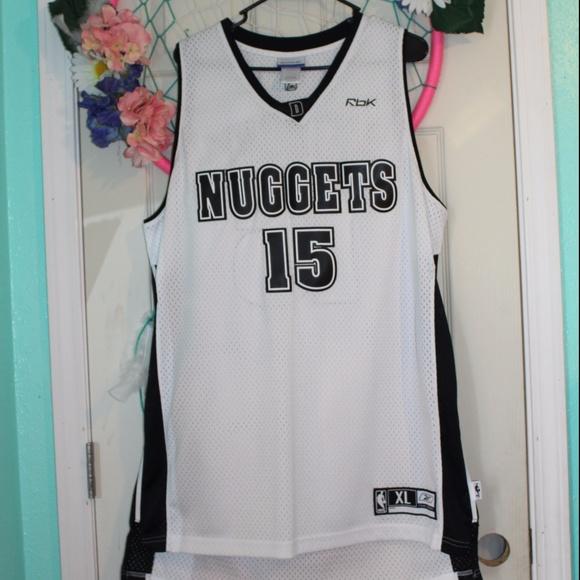 timeless design 34af3 297a6 Reebok Denver Nuggets Carmelo Anthony #15 Jersey