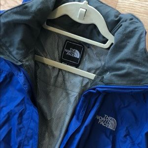 North Face Convertible Hood Raincoat