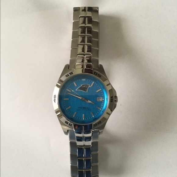 Accessories | Mens Carolina Panthers Watch By Fossil | Poshmark  for sale