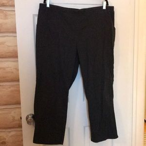 fa3236b9fb6 Just My Size Pants - JMS 3X (22-24W) Petite Pinstripe Dark Navy