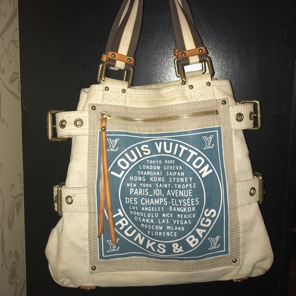 5acbcce97105 Louis Vuitton Handbags - Louis Vuitton Globe Shopper Cabas MM tote