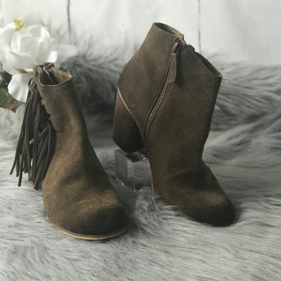 dd114d0f1035 Bp Fringe Distressed Bootie