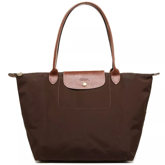 2907e9bf01dc Longchamp Handbags - Longchamp Le Pliage Large Tote Chocolate