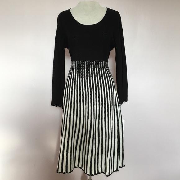 c28f7198cfa NWT Calvin Klein A-Line Bell Sleeve Sweater Dress