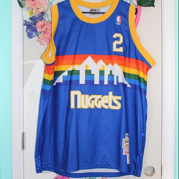outlet store 67121 87152 HWC Alex English 2 Denver Nuggets Throwback Jersey