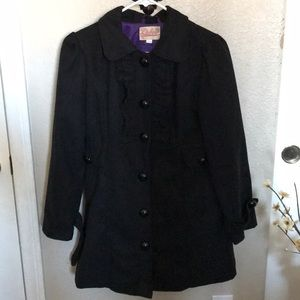 Other - Girls Black and purple Coat