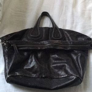 Givenchy nightingale satchel black medium