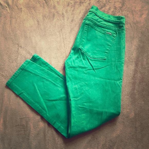 d1bf74b3 Ralph Lauren Green Skinny Jeans Size 8