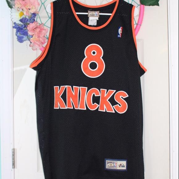 6554bab87 Hardwood Classics Other - HWC New York Knicks Latrell Sprewell  8