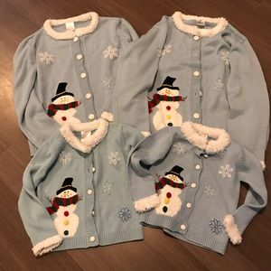 Sweaters - 4 matching ugly Christmas sweaters
