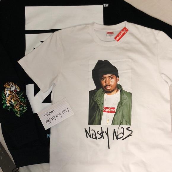 ed59eac9 Supreme Shirts | Nasty Nas Tee | Poshmark