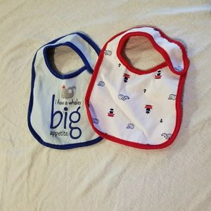 Other - Nautical bibs, dinosaur mittens, boy mittens