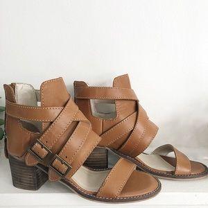 650afb8c7b32 Kelsi Dagger Shoes - Kelsi Dagger Brooklyn Grant Buckle Shootie Sandals