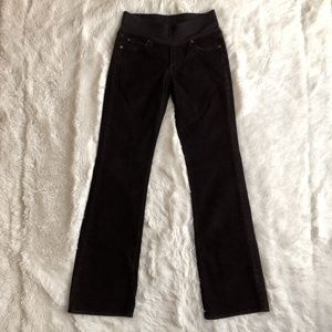 NWT 7 for all Mankind Maternity Corduroy Jeans 29