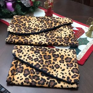 Handbags - Matching Animal Prints Quilted Travel Bags