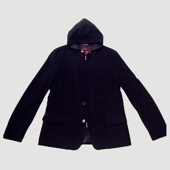 180a16157 Hugo Boss Suits & Blazers | Nwot Hooded Mens Wool Blazer | Poshmark