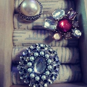Jewelry - NEW ARRIVAL Costume ring bundle