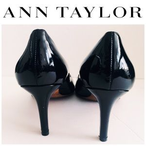 Ann Taylor Shoes - Ann Taylor Elegant Patent Leather Pumps