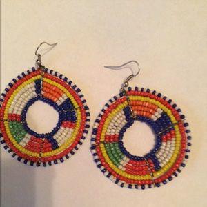 Jewelry - Maasai beaded earrings