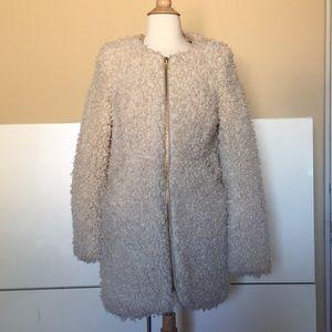 Zara Tarafluc Collection Sheepskin Jacket