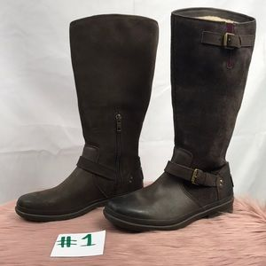 415d6212ce1 UGG 'Thomsen' Waterproof Leather Knee High Boot