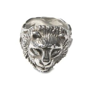 Jewelry - Lioness Diamond Eye Sterling Ring