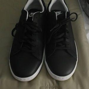 Nike gym shoes.
