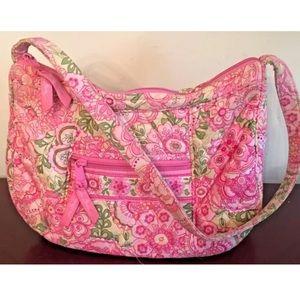 Vera Bradley Pink Floral Shoulder Bag