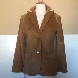 NEW Chaiken Corduroy Jacket/Blazer in Camel