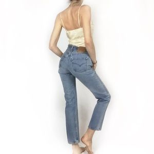 🌸Vtg 501 Light Wash Levis 26🌸