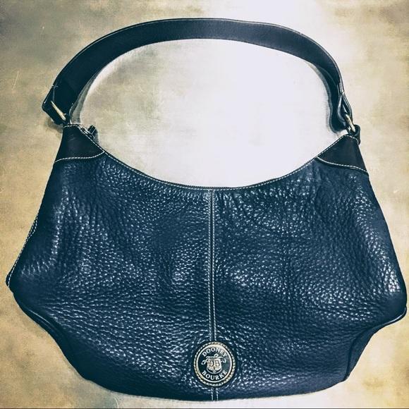 Dooney   Bourke Bags   Vintage Dooney Bourke Leather Hobo Shoulder ... d3287ef1a4