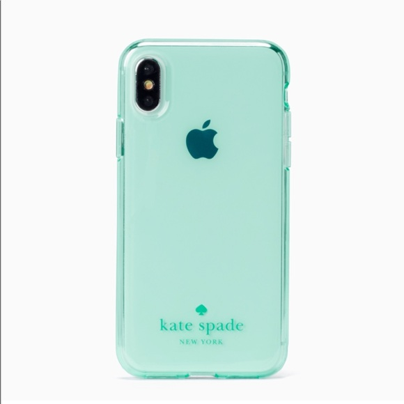 first rate c881c e07af Kate Spade Tinted Clear iPhone X Case