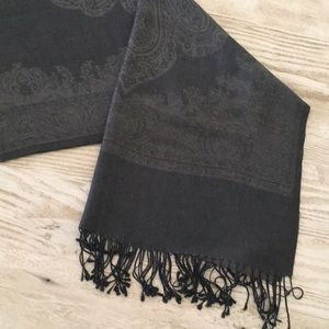 Accessories - Printed cashmere scarf