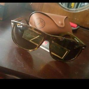 Other - Raybans tortoise shell polarized sunglasses