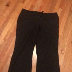 Pants - Black pants.