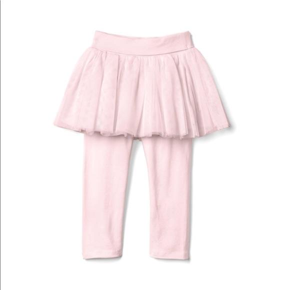 Baby Girls Pink Tutu Leggings Size 6-12 Months Size 0 NEW