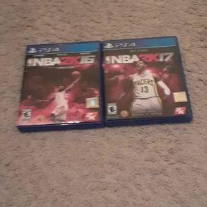 Other - NBA 2K 17 and NBA 2K 18
