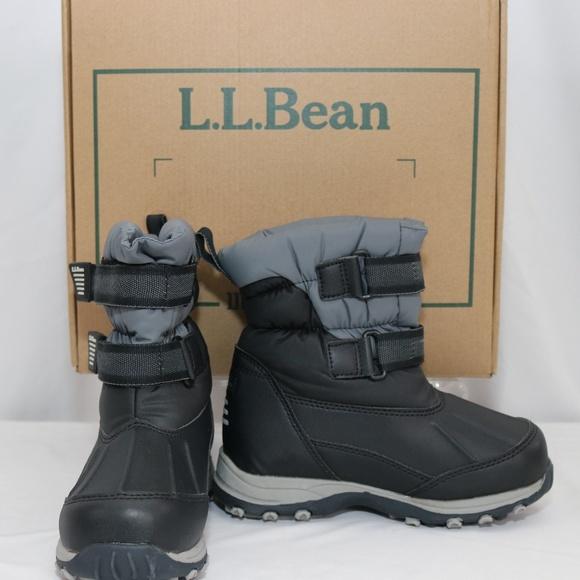 a515228e84d6 NIB Boys L.L. Bean Kids Snow Tread Boots size 13