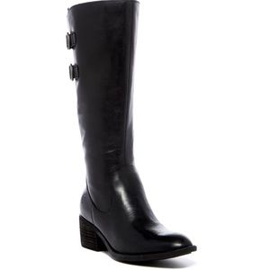 Born Bley Leather Black Boots - 6.5 *NWT*